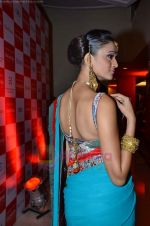 Model walks the ramp for Saree designer Shruti Sancheti showcase at 7TH Retail Jeweller Awards in Lalit Hotel on 6th Aug 2011 (53).JPG