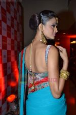 Model walks the ramp for Saree designer Shruti Sancheti showcase at 7TH Retail Jeweller Awards in Lalit Hotel on 6th Aug 2011 (55).JPG