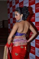 Model walks the ramp for Saree designer Shruti Sancheti showcase at 7TH Retail Jeweller Awards in Lalit Hotel on 6th Aug 2011 (59).JPG