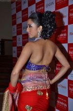 Model walks the ramp for Saree designer Shruti Sancheti showcase at 7TH Retail Jeweller Awards in Lalit Hotel on 6th Aug 2011 (60).JPG