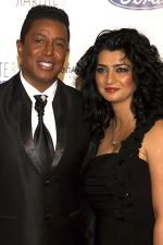 Jermain Jackson and wife Halima attends the Starlite Gala 2011 Photocall in Hotel Villa Padierna, Costa del Sol, Marbella, Spain on 6th August 2011 (7).jpg