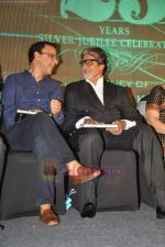 Vidhu Vinod Chopra, Amitabh Bachchan at the launch of Nitin Desai_s book at his 25th year celebrations in J W Marriott, Juhu, Mumbai on 8th Aug 2011 (89).JPG