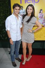 Booboo Stewart and Fivel Stewart attends the LA Premiere of THE HELP in Samuel Goldwyn Theater, Beverly Hills on 9th August 2011 (15).jpg