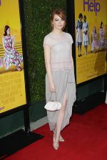 Emma Stone attends the LA Premiere of THE HELP in Samuel Goldwyn Theater, Beverly Hills on 9th August 2011 (2).jpg