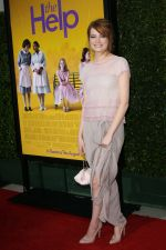 Emma Stone attends the LA Premiere of THE HELP in Samuel Goldwyn Theater, Beverly Hills on 9th August 2011 (14).jpg