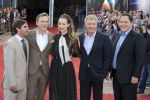 Roberto Orci, Daniel Craig, Olivia Wilde, Harrison Ford and Jon Favreau attends the Cowboys and Aliens UK Premiere in Cineworld in the O2 Arena on 11th August 2011 (1).jpg