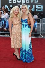 Sinead Kelly, Ali Bastian attends the Cowboys and Aliens UK Premiere in Cineworld in the O2 Arena on 11th August 2011 (6).jpg