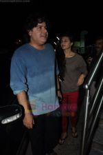 Sajid Khan, Jacqueline Fernandez snapped at PVR juhu in Mumbai on 13th Aug 2011 (5).JPG