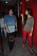 Sajid Khan, Jacqueline Fernandez snapped at PVR juhu in Mumbai on 13th Aug 2011 (7).JPG