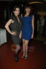 Soha Ali Khan, Mrinalini Sharma at the Music Launch of Soundtrack in Cinemax, Mumbai on 13th Aug 2011 (23).JPG