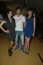 Soha Ali Khan, Mrinalini Sharma, Rajeev Khandelwal at the Music Launch of Soundtrack in Cinemax, Mumbai on 13th Aug 2011 (8).JPG