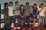 Soha Ali Khan, Neerav Ghosh, Mrinalini Sharma, Rajeev Khandelwal at the Music Launch of Soundtrack in Cinemax, Mumbai on 13th Aug 2011 (32).JPG