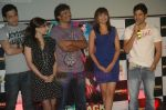 Soha Ali Khan, Neerav Ghosh, Mrinalini Sharma, Rajeev Khandelwal at the Music Launch of Soundtrack in Cinemax, Mumbai on 13th Aug 2011 (33).JPG