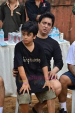 Sajid Nadiadwala at Men_s Helath fridly soccer match with celeb dads and kids in Stanslauss School on 15th Aug 2011 (27).JPG