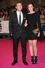 Dermot O_Leary and Dee Koppang attends the One Day European Premiere at Vue Cinema, Westfield Shopping Centre on 23rd August 2011 (19).jpg