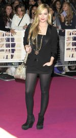 Laura Whitmore attends the One Day European Premiere at Vue Cinema, Westfield Shopping Centre on 23rd August 2011 (11).jpg