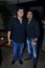 Sajid Khan at Shankar Ehsaan Loy post concert in Bungalow 9 on 24th Aug 2011 (60).JPG