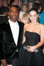 Simon Webbe and Maria Koukas attends the One Day European Premiere at Vue Cinema, Westfield Shopping Centre on 23rd August 2011 (22).jpg