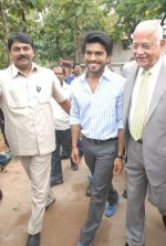 Ram Charan launches Apollo Go Green Initiative on 27 August 2011 (40).JPG