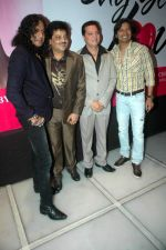 Udit Narayan, Shaan, Lalit Pandit at Say Yes to Love music launch in Sea Princess on 27th Aug 2011 (21).JPG