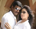 Sameera Reddy, Vishal in Vedi Movie Stills (27).jpg