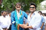 Srikanth, Ram Charan attended the movie Devaraya Opening on 31st August 2011 (4).jpg
