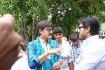 Srikanth, Ram Charan attended the movie Devaraya Opening on 31st August 2011 (5).jpg