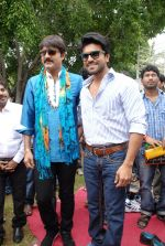 Srikanth, Ram Charan attended the movie Devaraya Opening on 31st August 2011 (7).jpg