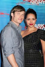 Chris Carmack and Alyssa Diaz attends the Shark Night 3D LA Screening at Universal CityWalk, Hollywood on 1st September 2011 (7).jpg