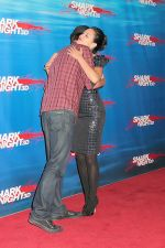 Joel David Moore and Alyssa Diaz attends the Shark Night 3D LA Screening at Universal CityWalk, Hollywood on 1st September 2011 (8).jpg