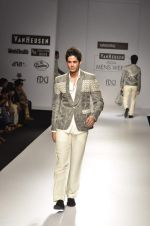 Model walk the ramp for Manoviraj Khosla at Van Heusen India Mens Week Day 3 on 4th Sept 2011 (77).JPG