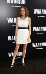 Laura Kenley Chinn attends the Warrior Los Angeles Premiere at ArcLight Cinemas on 6th September 2011 (7).jpg