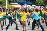 Ajay Devgan, Sanjay Dutt, Lisa Haydon in Rascals Movie Stills (5).JPG