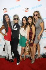 Jessica Manriquez, Mikey Koffman, Gohar Khojabagyan, Maile Proctor and Kristin attends Fashion_s Night Out at ADBD hosted by Paul Frank in Los Angeles on September 8, 2011 (11).jpg