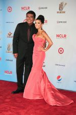 Eva Longoria and George Lopez attends the 2011 NCLR ALMA Awards in Santa Monica Civic Auditorium on 10th September 2011 (22).jpg