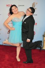 Raini Rodriguez and Rico Rodriguez attends the 2011 NCLR ALMA Awards in Santa Monica Civic Auditorium on 10th September 2011 (18).jpg