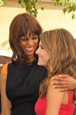 Tyra Banks and Maria Menounos at The Grove in Los Angeles on September 14, 2011 (4).jpg