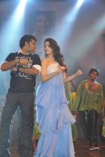 Tamanna Bhatia, Junior NTR dances at the Oosaravelli Movie Audio Launch on 14th September 2011 (104).JPG