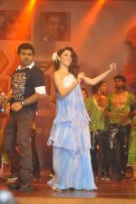 Tamanna Bhatia, Junior NTR dances at the Oosaravelli Movie Audio Launch on 14th September 2011 (105).JPG