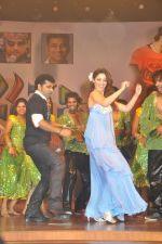 Tamanna Bhatia, Junior NTR dances at the Oosaravelli Movie Audio Launch on 14th September 2011 (108).JPG