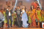 Tamanna Bhatia, Junior NTR dances at the Oosaravelli Movie Audio Launch on 14th September 2011 (112).JPG