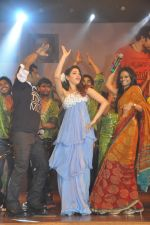 Tamanna Bhatia, Junior NTR dances at the Oosaravelli Movie Audio Launch on 14th September 2011 (115).JPG
