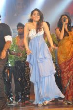 Tamanna Bhatia, Junior NTR dances at the Oosaravelli Movie Audio Launch on 14th September 2011 (116).JPG