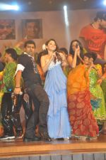 Tamanna Bhatia, Junior NTR dances at the Oosaravelli Movie Audio Launch on 14th September 2011 (120).JPG