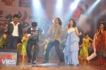 Tamanna Bhatia, Junior NTR dances at the Oosaravelli Movie Audio Launch on 14th September 2011 (123).JPG