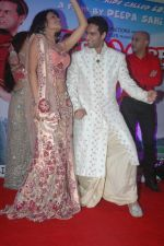 Sasha Goradia, Jagrat Desai at Tere Mere Phere music launch in Raheja Classique, Andheri on 16th Sept 2011 (115).JPG