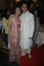 Sasha Goradia, Jagrat Desai at Tere Mere Phere music launch in Raheja Classique, Andheri on 16th Sept 2011 (119).JPG