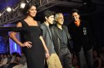 Ritesh Deshmukh, Rima Fakih walk the ramp for Manoviraj Khosla and Frank Tell show for the Signature tour in Novotel on 17th Sept 2011 (27).JPG