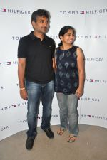 S.S Rajamouli, Rama Rajamouli attends Tommy Hilfiger Showroom Relaunch Party held at Kismet Pub, Park Hotel, Hyderabad on 17th September 2011 (7).JPG