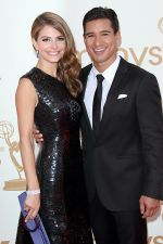 Maria Menounos and Mario Lopez attends the 63rd Annual Primetime Emmy Awards in Nokia Theatre L.A. Live on 18th September 2011 (1).jpg